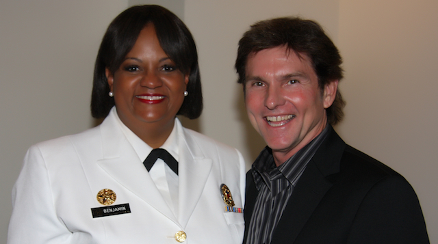 Dan with former U.S. Surgeon General, Regina Benjamin