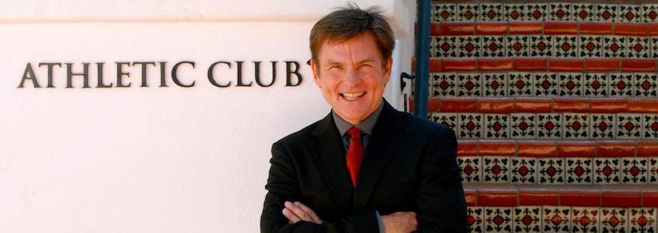 Dan Isaacson at the Athletic Club