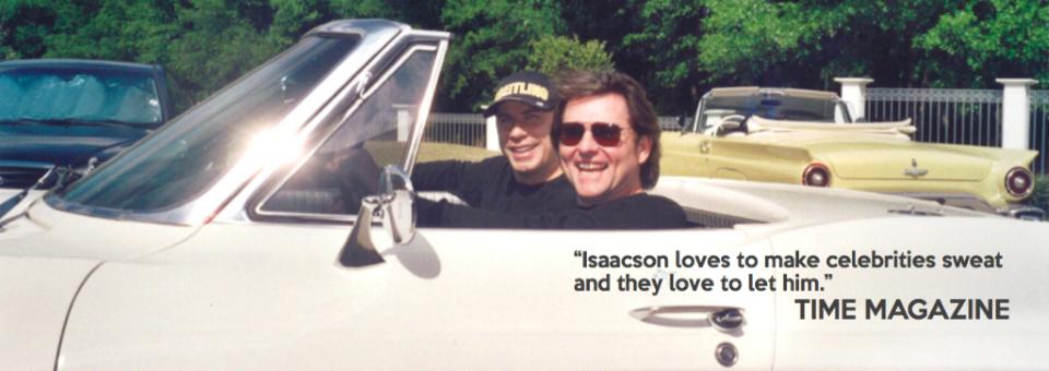Dan with client John Travolta
